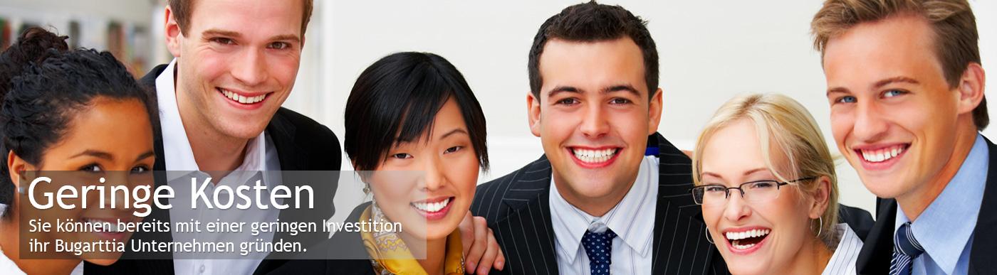 Sie können Ihr Bugarttia Geschäft mit einer kleinen Investition starten.